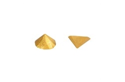 Gold Metallic Jelly Studs £1.00