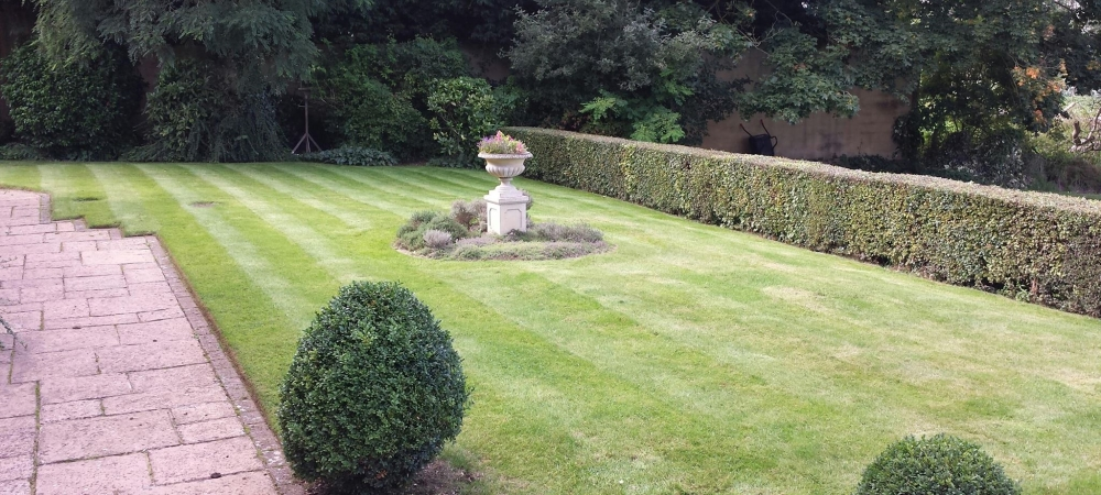 A Traditional Landscaped Garden