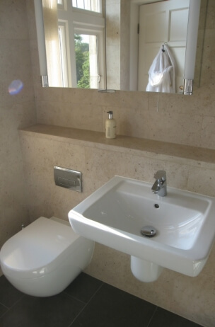 Limestone Bathroom Case Study