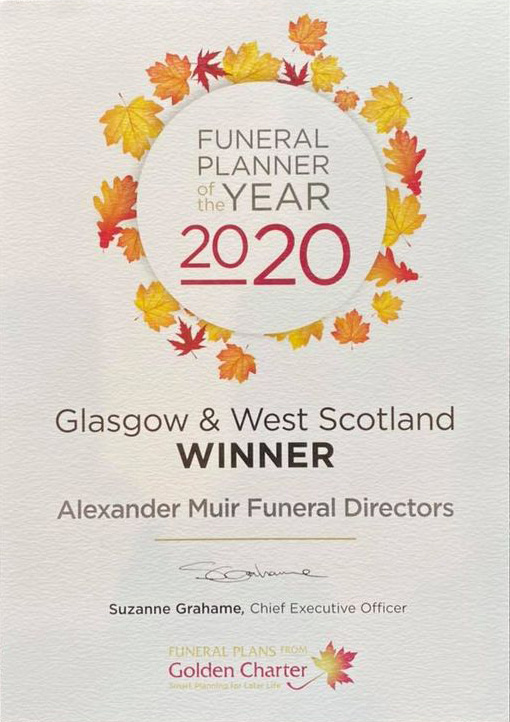 Funeral Planner Of The Year 2020