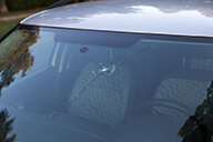 Windscreen with chip