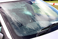 Windscreen in need of repair