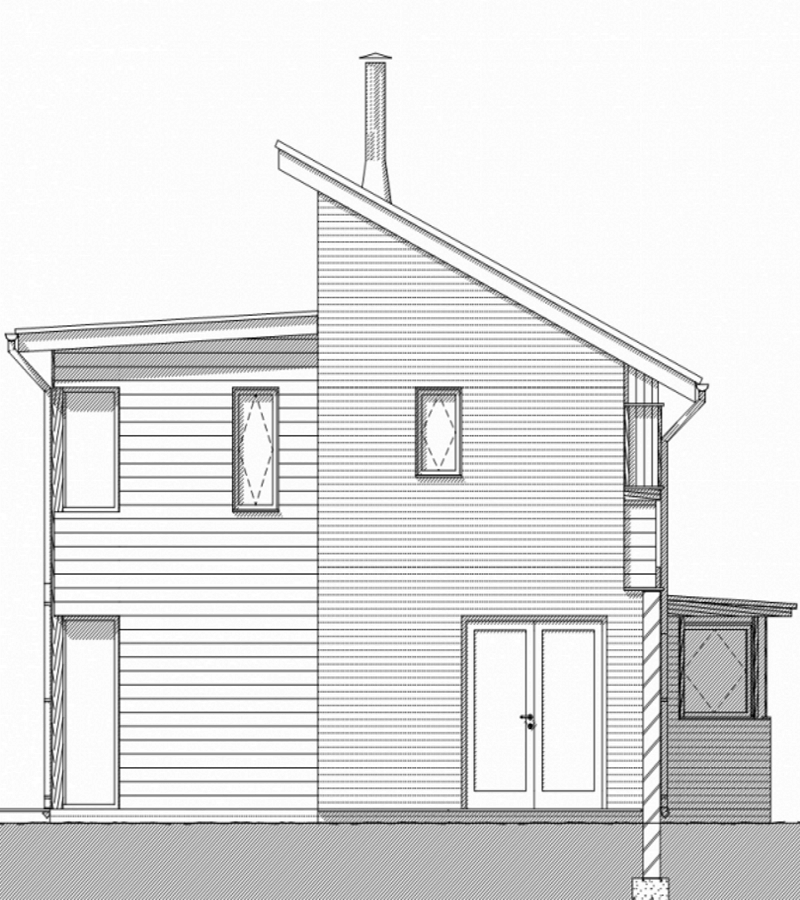 Award Winning Self Built House Render