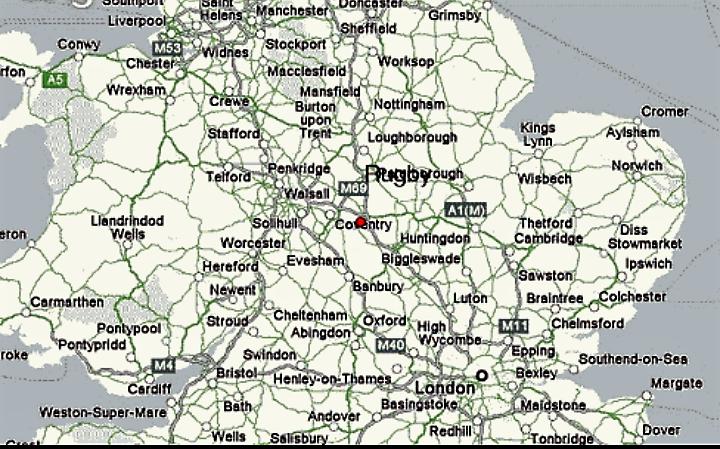 RUGBY & SURROUNDING AREAS (25 miles radius)