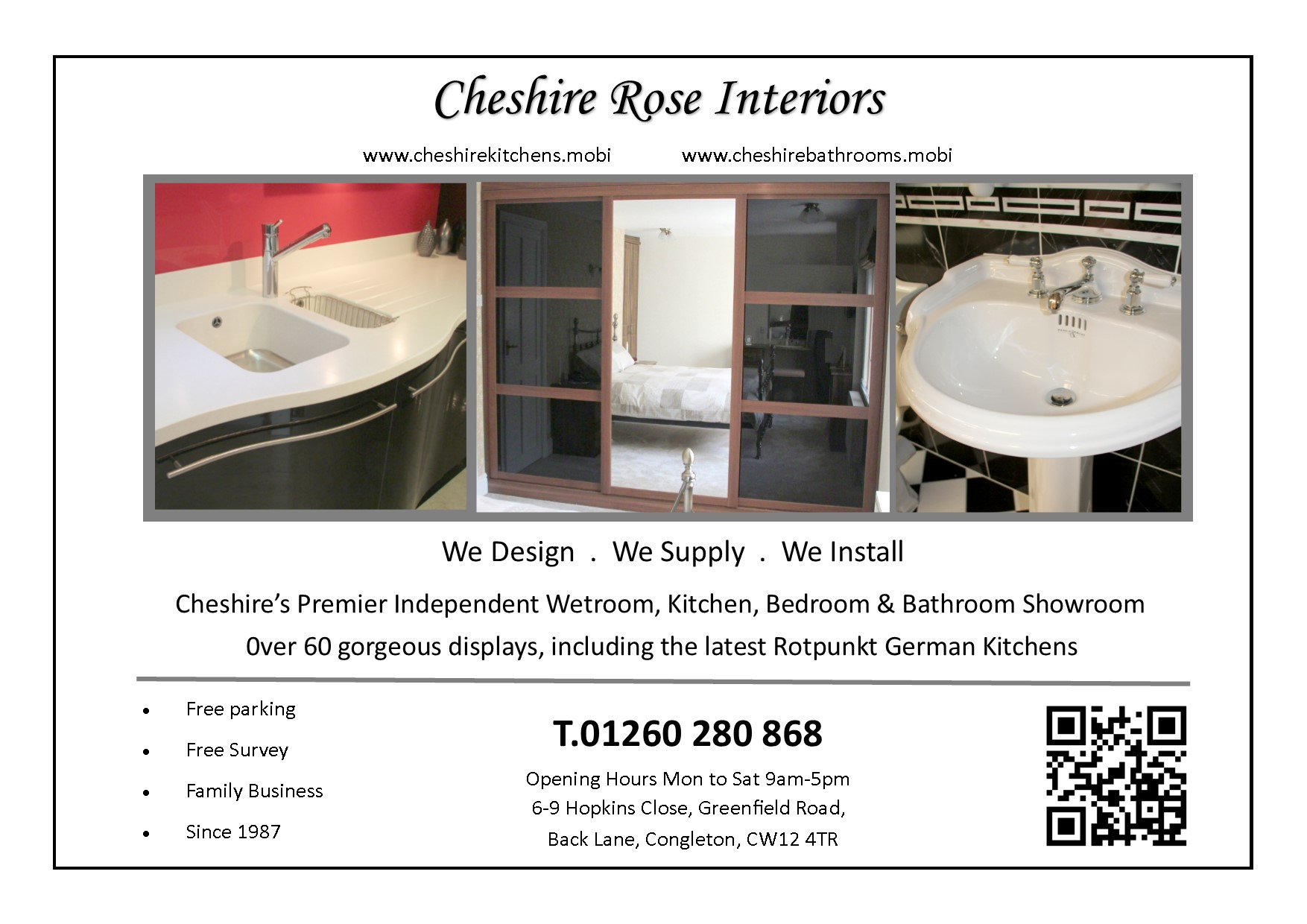 Cheshire Rose Bathrooms