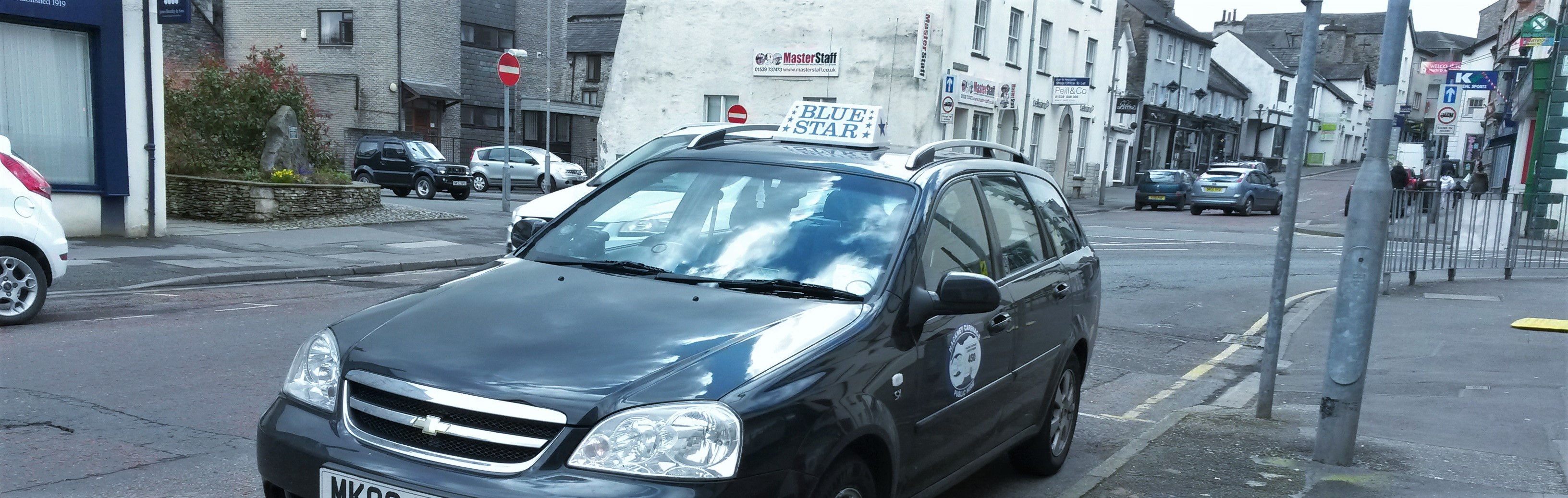 Book a Taxi with Blue Star Taxis Today on 01539 723 670