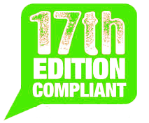 17th Edition Compliant