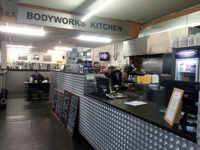 Bodyworks Gym Kitchen