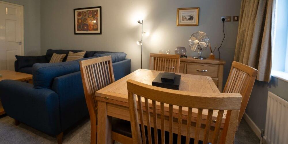 Chestnut Apartment Dining Room
