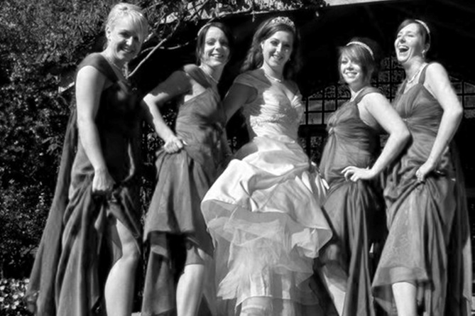 Rachael and Bridesmaids