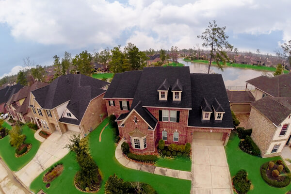 Aerial Photo of a Domestic Property