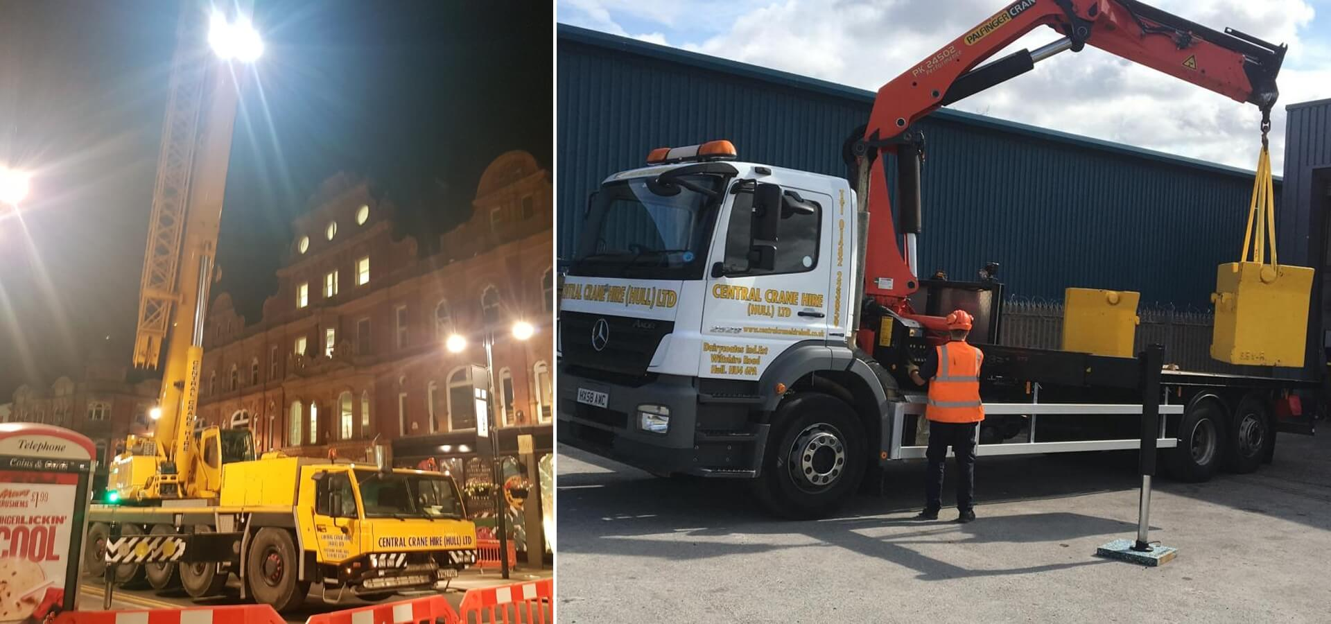 Central Crane Hire (Hull) Ltd | Crane & Forklift Hire - Central