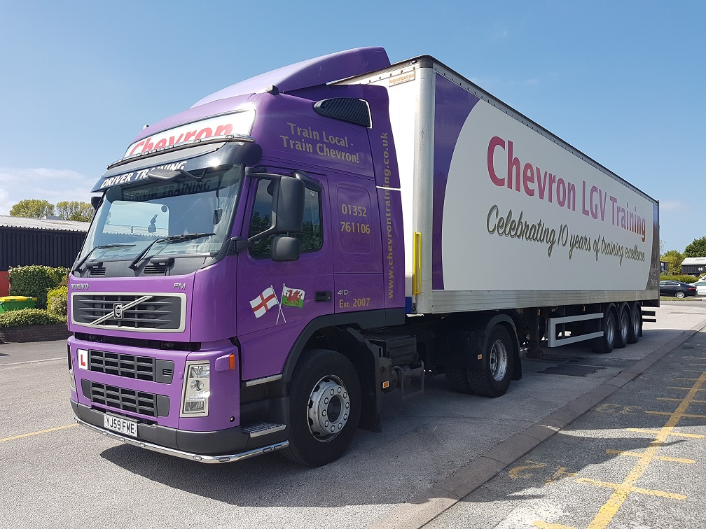 Purple Chevron Training Truck