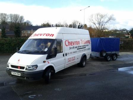 Chevron Training Van and Trailer
