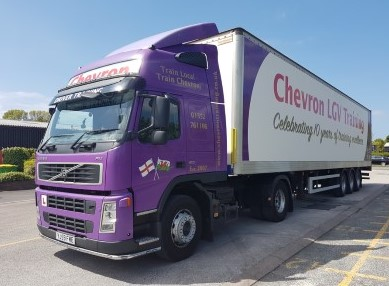 Chevron Artic Lorry