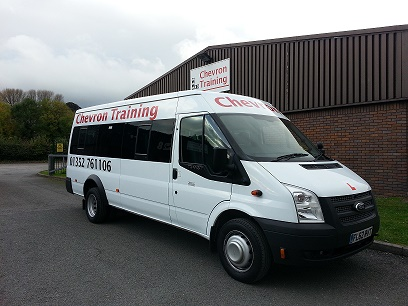 Chevron Training Mini Bus