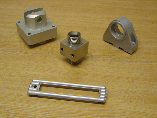 Mixed milled parts