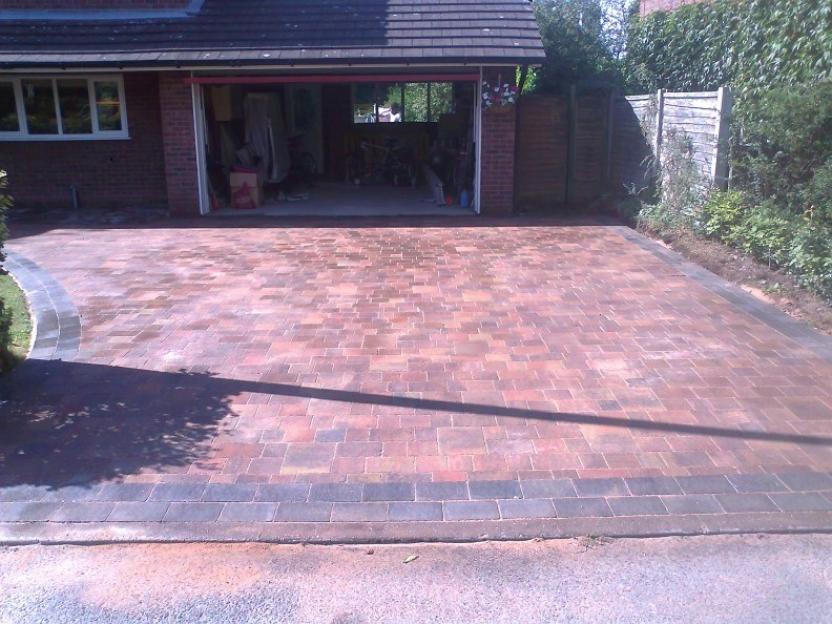 brickwork style driveway