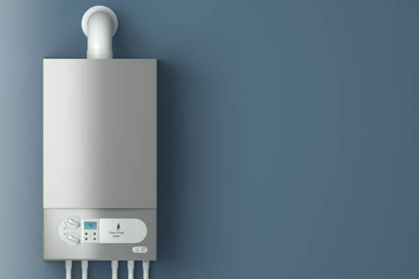 Gas Boiler on Wall