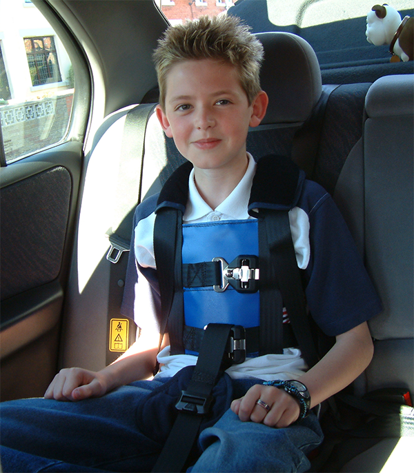 5 Point Harness Booster >> Seatbelts & Harnesses for Children & Adults with Special Needs - Crelling Harnesses Ltd