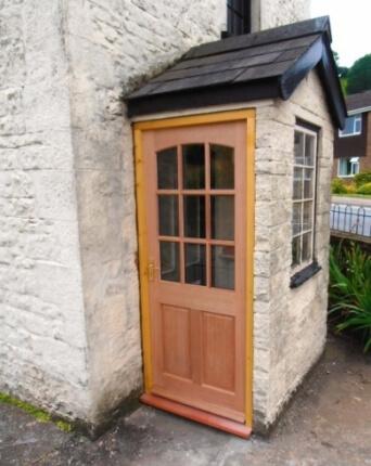 Glazed exterior door
