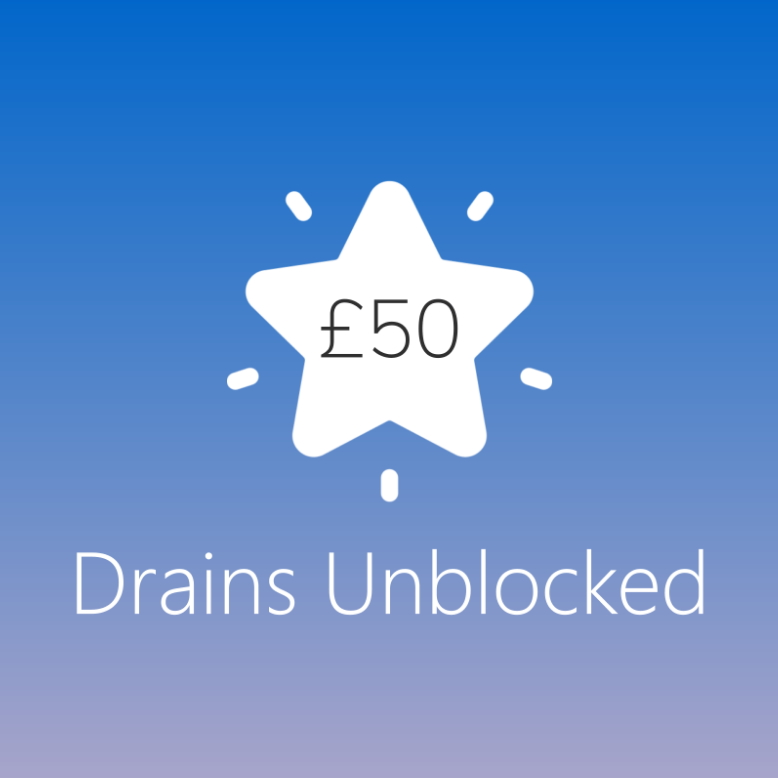 Drains Unblocked for £50