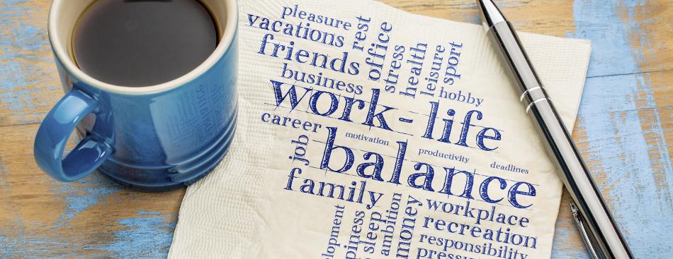 Balanced life concept