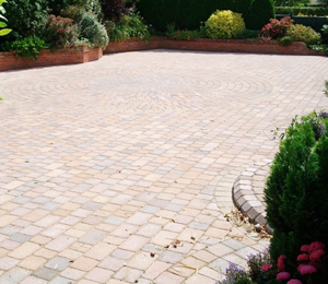 Clean New Patio Stone