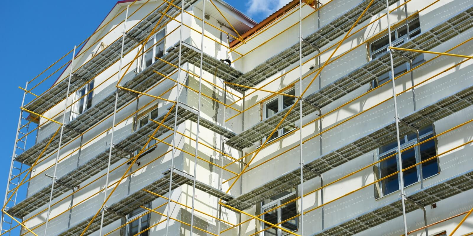 External and Internal Scaffolding Supplies West Midlands