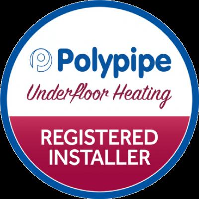polypipe underfloor heating, registered installer