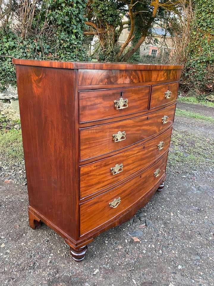 Restored set of Drawers