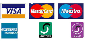 payment cards accepted logos