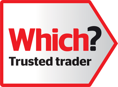 Which trusted trader logo