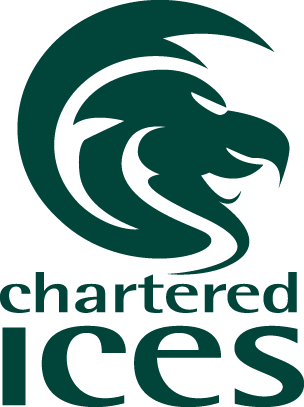 Chartered ICES logo.