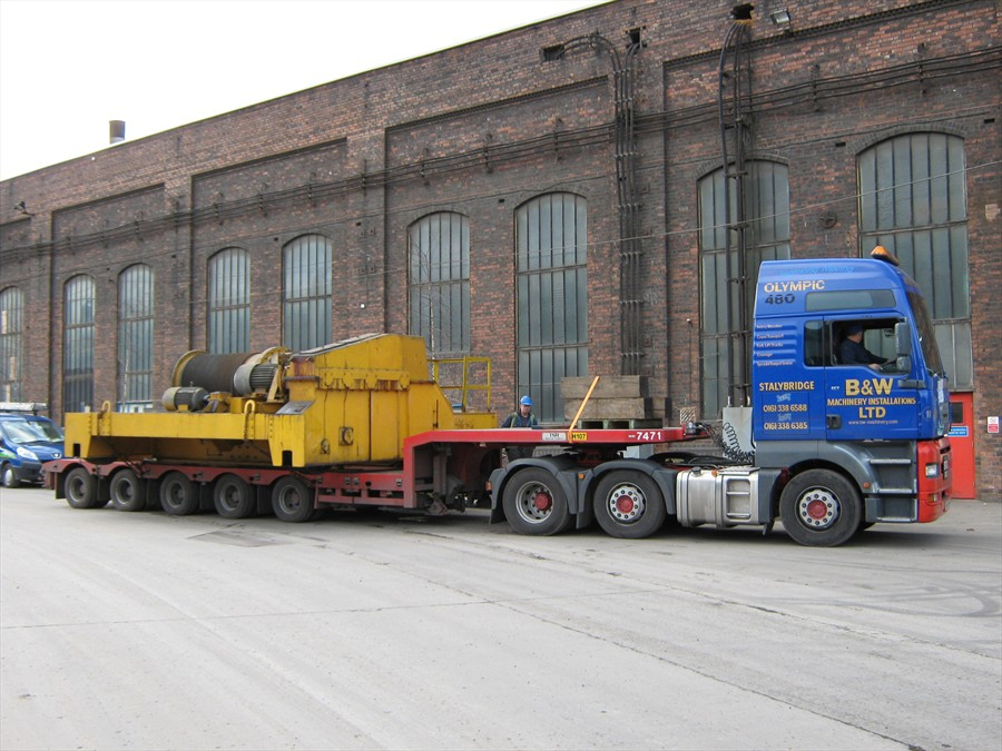 Machinery Relocation