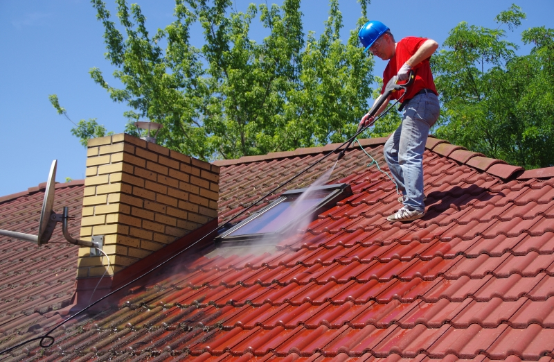 Roof Domestic Cleaning Process