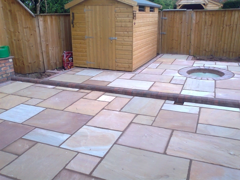Patios, Fencing and Landscaping