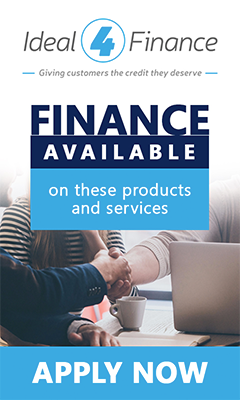 Finance available for these products and services by contacting Ideal4Finance directly now!