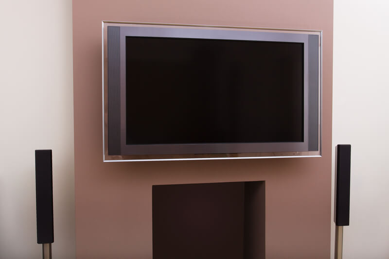 TV on a Wall Mount