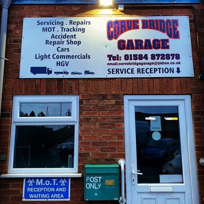 Corve Bridge Garage Office.