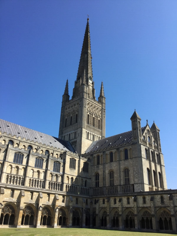 Cathedral in Norwich