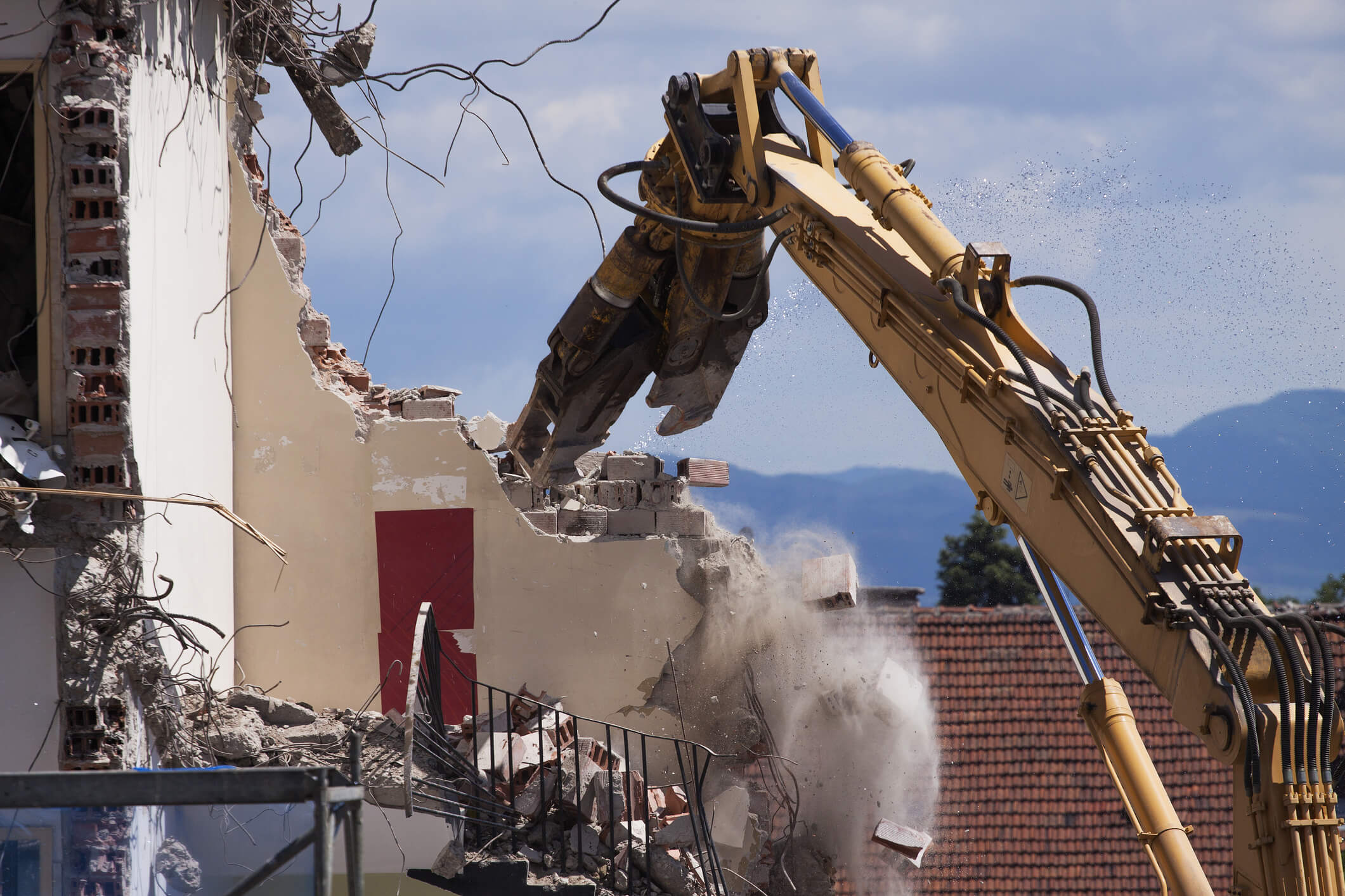 Demolition Services in North and Mid Wales