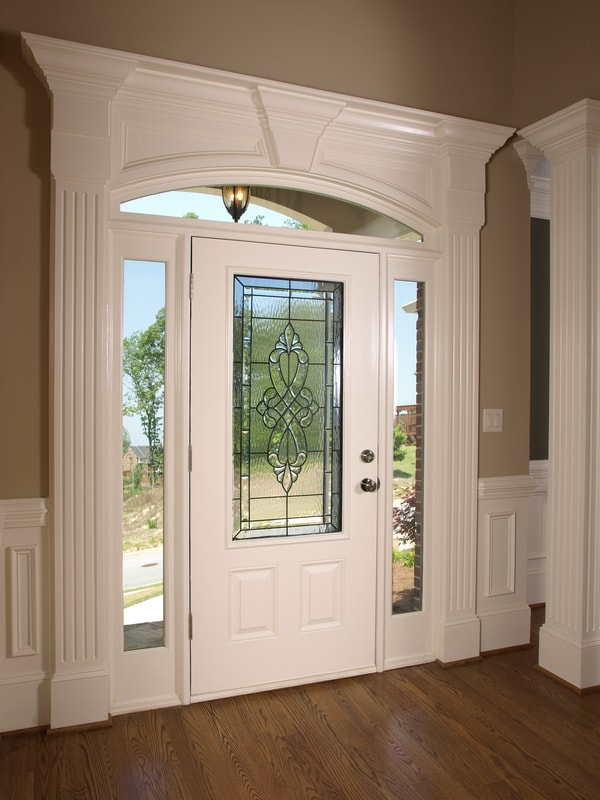 Grand doorway of home