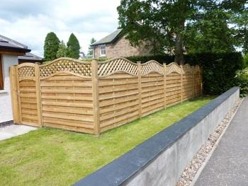 Garden fencing project
