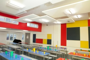 Primary with new lighting fitted by Ardern & Druggan