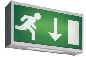 Emergency exit lighting system