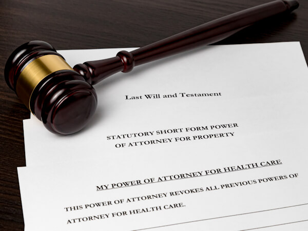 Concept of planning for death and estate planning