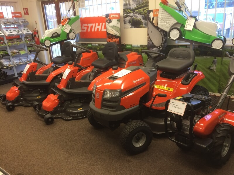 Lawn Mower stock at Gardners Lawn & Garden Equipment