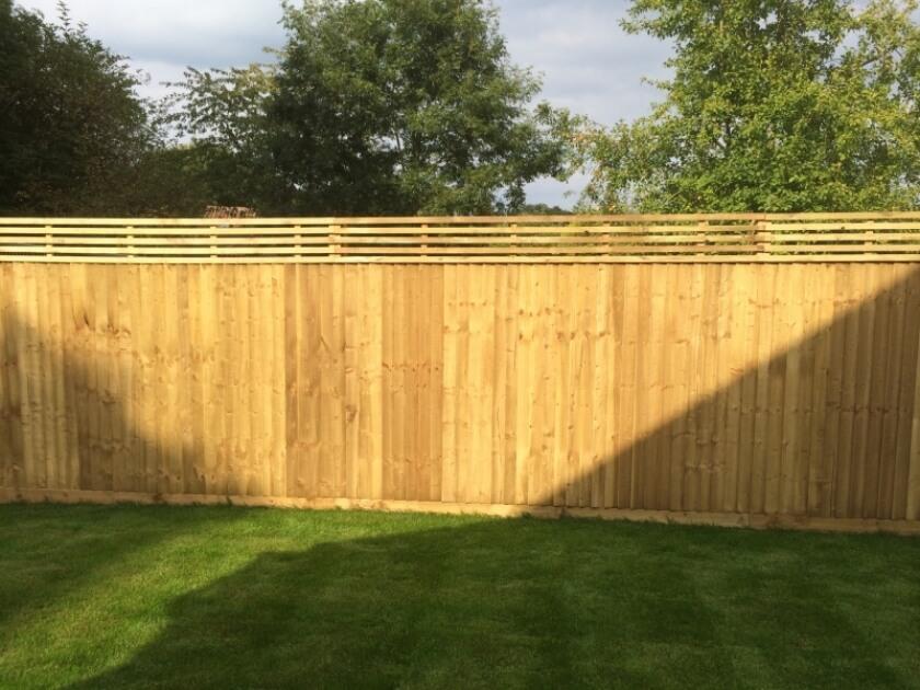 bespoke fence installation