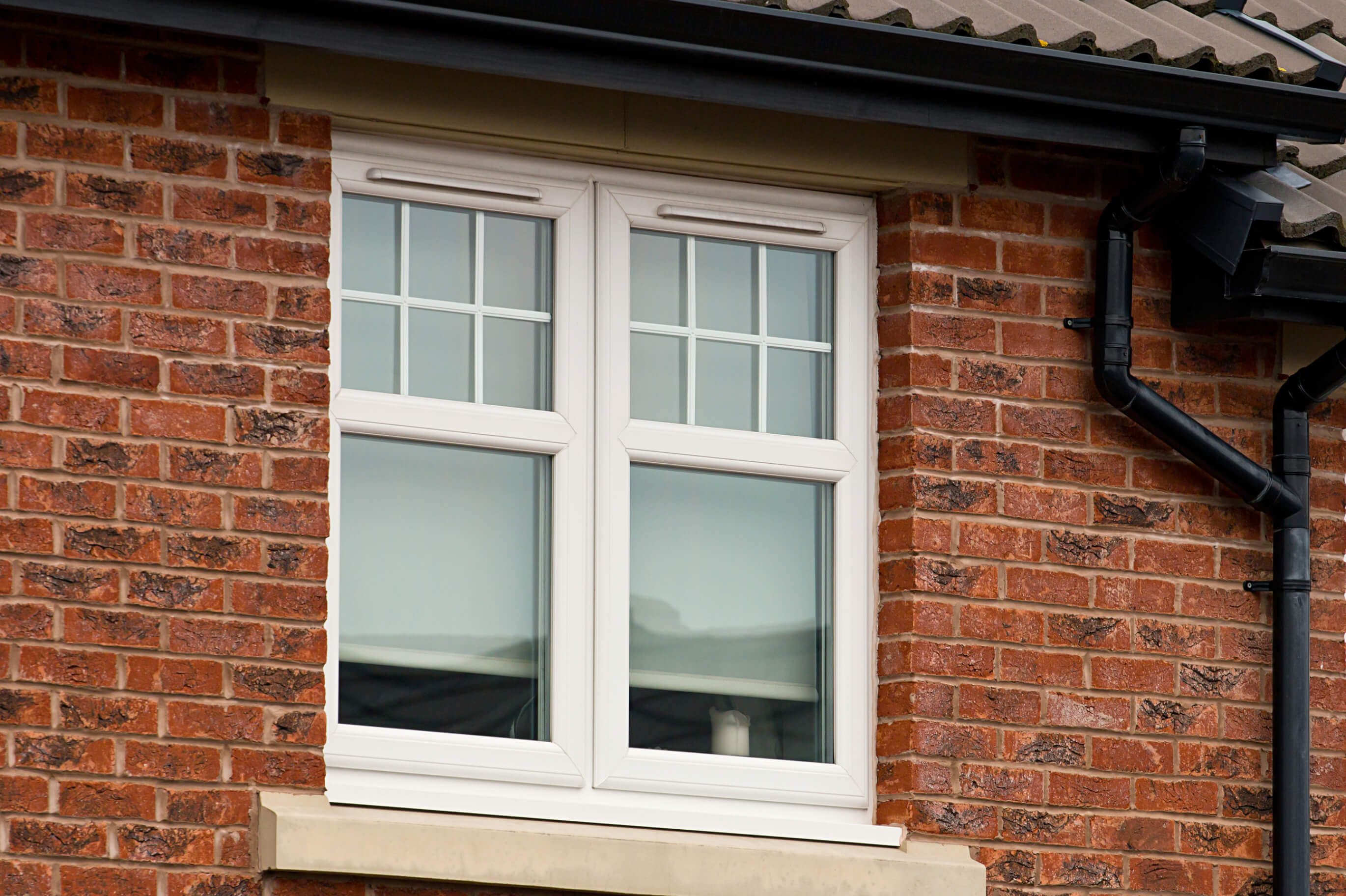 Modern UPVC Double Glazed Window Unit.